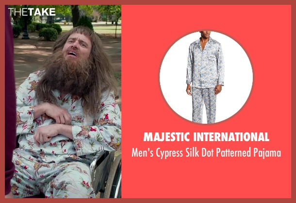Majestic International blue pajama from Dumb and Dumber To seen with Jim Carrey (Lloyd Christmas)