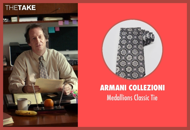 Armani Collezioni gray tie from The Best of Me seen with Jim Gleason (Lawyer)