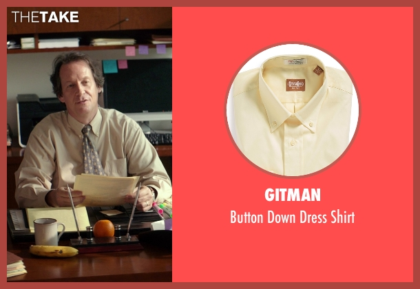 Gitman yellow shirt from The Best of Me seen with Jim Gleason (Lawyer)