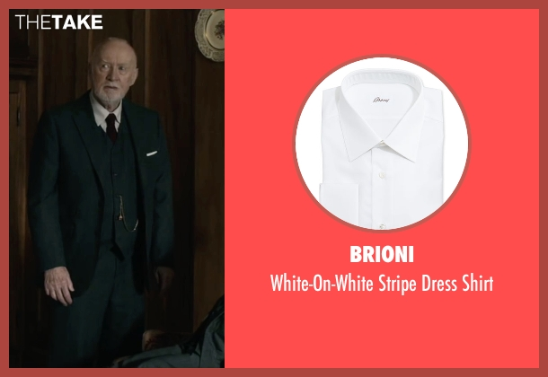 Brioni	 white shirt from The Boy seen with Jim Norton (Mr. Heelshire)