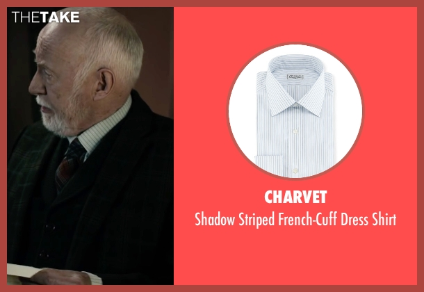 Charvet	 white shirt from The Boy seen with Jim Norton (Mr. Heelshire)