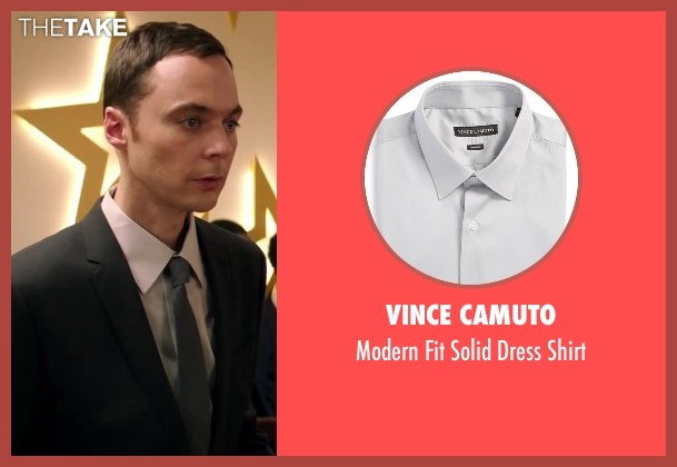 Vince Camuto gray shirt from Wish I Was Here seen with Jim Parsons