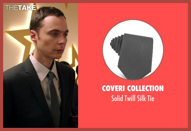 Coveri Collection gray tie from Wish I Was Here seen with Jim Parsons