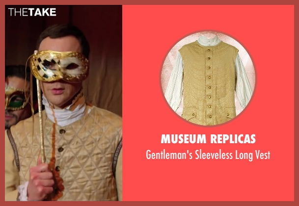 Museum Replicas vest from Wish I Was Here seen with Jim Parsons (Paul)