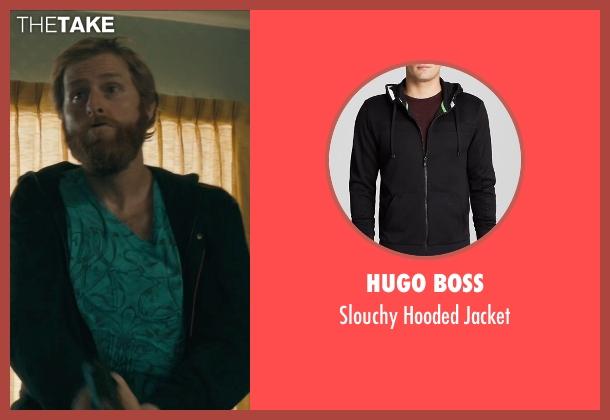 Hugo Boss black jacket from Drive seen with Jimmy Hart (Hitman #2)