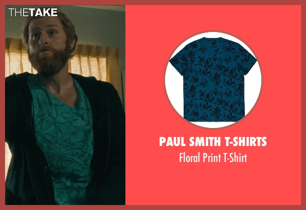 Paul Smith T-Shirts blue t-shirt from Drive seen with Jimmy Hart (Hitman #2)