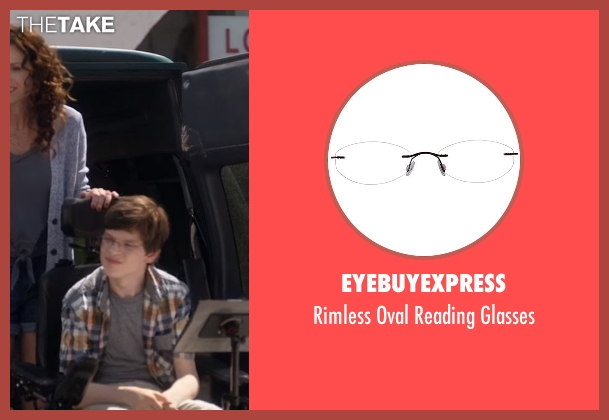 EyeBuyExpress  glasses from Speechless seen with JJ Dimeo (Micah Fowler)