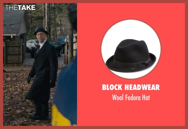 Block Headwear black hat from The Accountant seen with J.K. Simmons (Ray King)