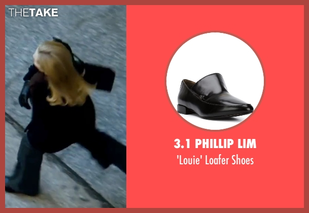 3.1 Phillip Lim black shoes from The Bourne Ultimatum seen with Joan Allen (Pam Landy)