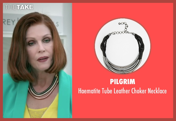 Pilgrim black necklace from Absolutely Anything seen with Joanna Lumley (Fenella)