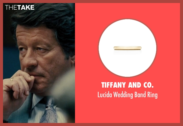 Tiffany and Co. gold ring from Our Brand Is Crisis seen with Joaquim de Almeida (Pedro Gallo)