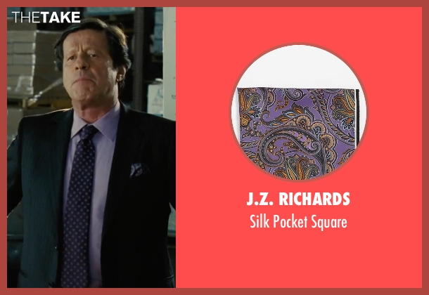 J.Z. Richards purple square from Our Brand Is Crisis seen with Joaquim de Almeida (Pedro Gallo)