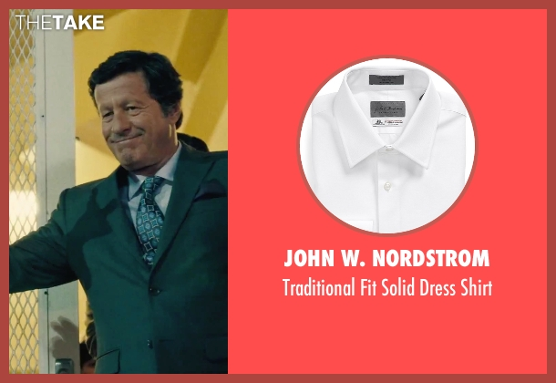 John W. Nordstrom white shirt from Our Brand Is Crisis seen with Joaquim de Almeida (Pedro Gallo)