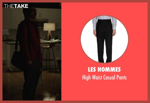 Les Hommes black pants from Her seen with Joaquin Phoenix (Theodore Twombly)