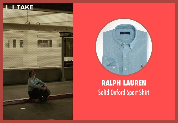 Ralph Lauren blue shirt from Her seen with Joaquin Phoenix (Theodore Twombly)