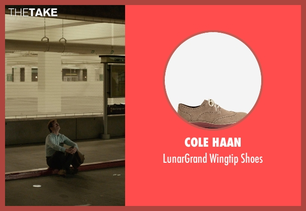 Cole Haan brown shoes from Her seen with Joaquin Phoenix (Theodore Twombly)