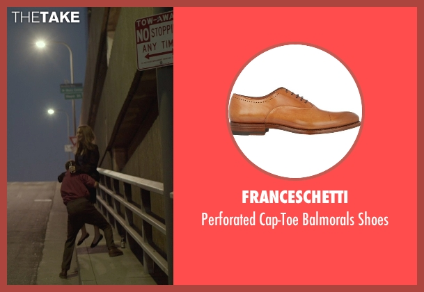 Franceschetti brown shoes from Her seen with Joaquin Phoenix (Theodore Twombly)