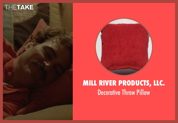 Mill River Products, LLC. pillow from Her seen with Joaquin Phoenix (Theodore Twombly)