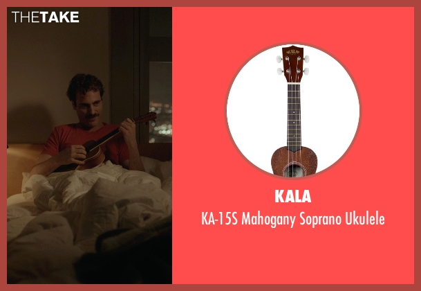 Kala ukulele from Her seen with Joaquin Phoenix (Theodore Twombly)