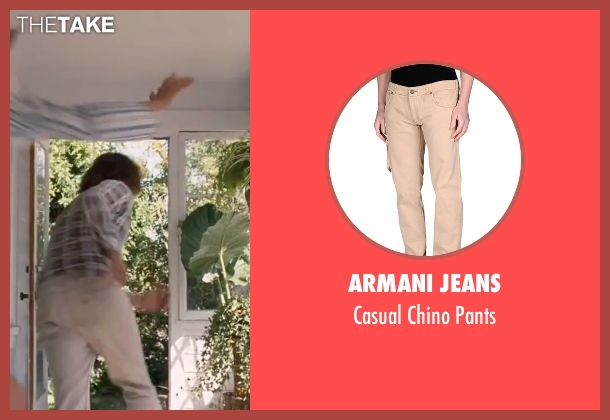 "Armani Jeans beige pants from Inherent Vice seen with Joaquin Phoenix (Larry ""Doc"" Sportello)"