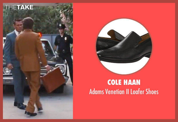 "Cole Haan black shoes from Inherent Vice seen with Joaquin Phoenix (Larry ""Doc"" Sportello)"