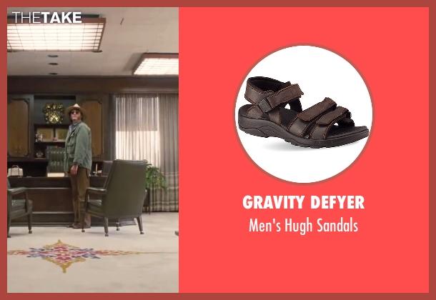 "Gravity Defyer brown sandals from Inherent Vice seen with Joaquin Phoenix (Larry ""Doc"" Sportello)"