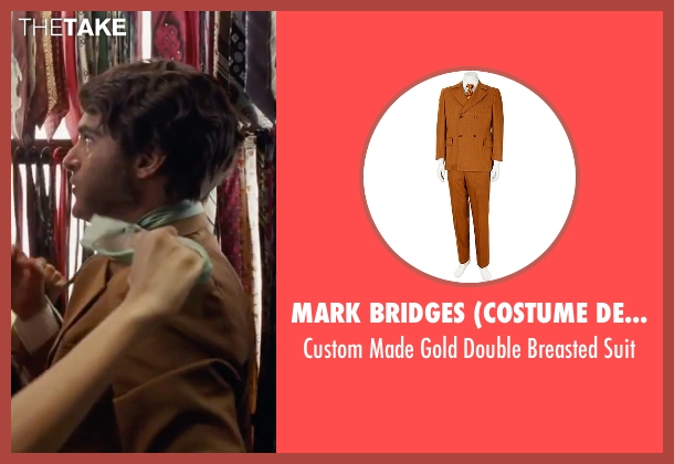 "Mark Bridges (Costume Designer) suit from Inherent Vice seen with Joaquin Phoenix (Larry ""Doc"" Sportello)"