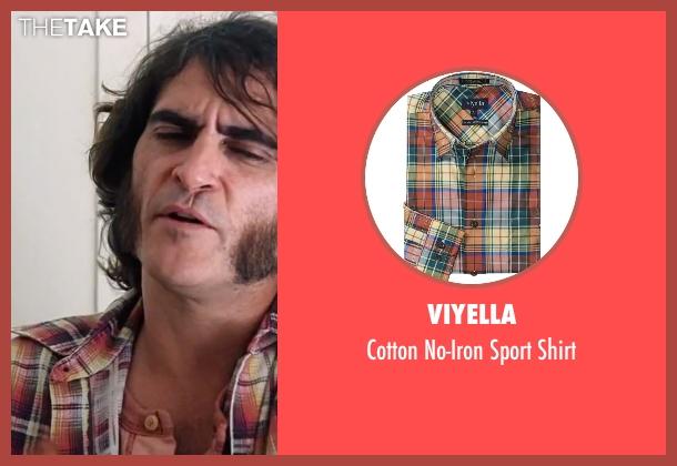 "Viyella yellow shirt from Inherent Vice seen with Joaquin Phoenix (Larry ""Doc"" Sportello)"