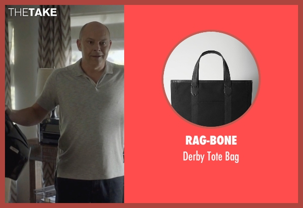 Rag-Bone black bag from Ballers seen with Joe (Rob Corddry)