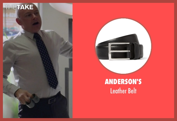 Anderson's black belt from Ballers seen with Joe (Rob Corddry)