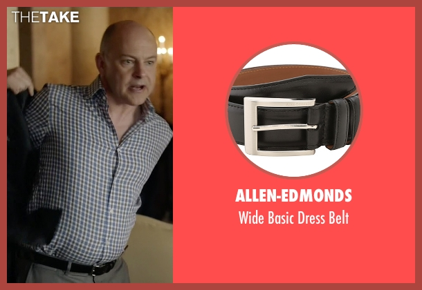 Allen-Edmonds black belt from Ballers seen with Joe (Rob Corddry)