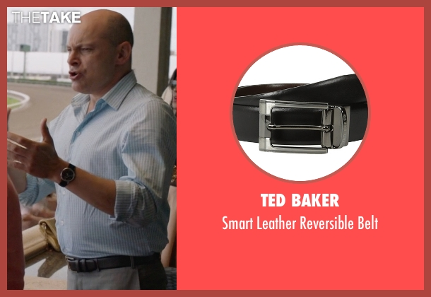 Ted Baker black belt from Ballers seen with Joe (Rob Corddry)