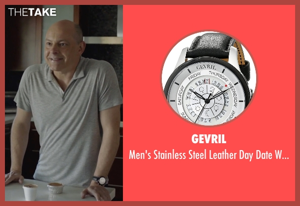 Gevril black watch from Ballers seen with Joe (Rob Corddry)