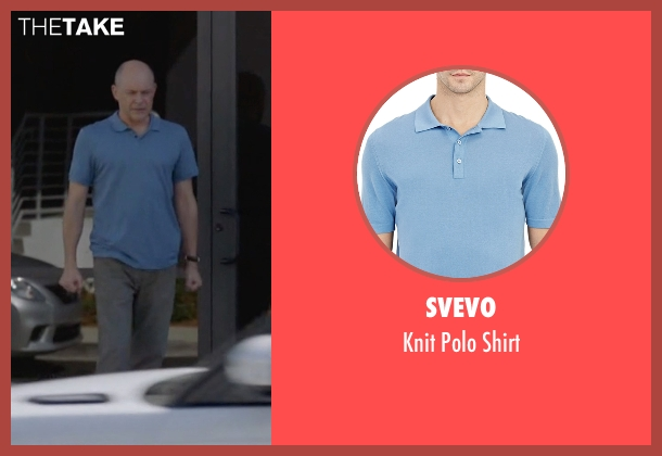 Svevo blue shirt from Ballers seen with Joe (Rob Corddry)