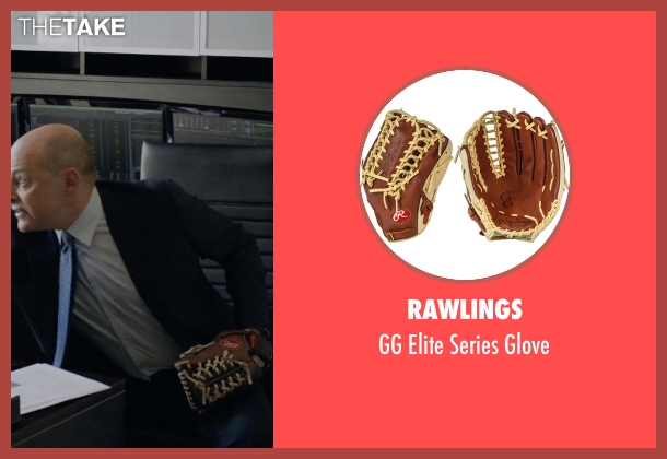 Rawlings glove from Ballers seen with Joe (Rob Corddry)