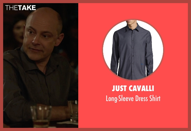 Just Cavalli gray shirt from Ballers seen with Joe (Rob Corddry)