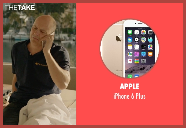 Apple plus from Ballers seen with Joe (Rob Corddry)