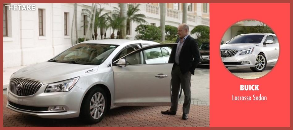 Buick sedan from Ballers seen with Joe (Rob Corddry)