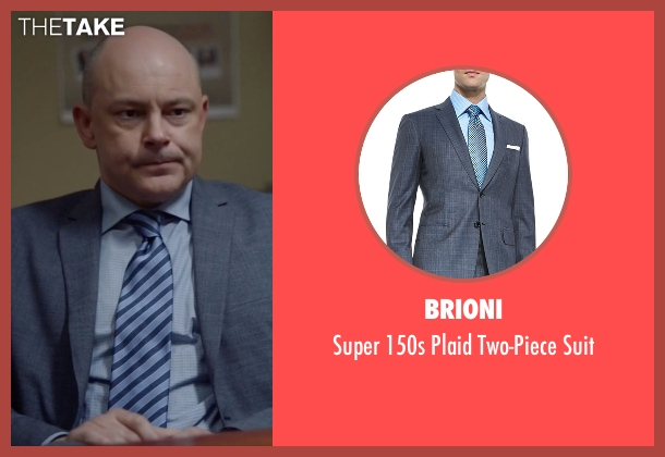 Brioni suit from Ballers seen with Joe (Rob Corddry)