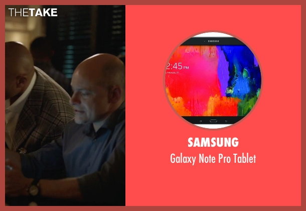 Samsung tablet from Ballers seen with Joe (Rob Corddry)