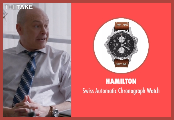 Hamilton watch from Ballers seen with Joe (Rob Corddry)