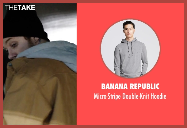 Banana Republic gray hoodie from Secret in Their Eyes seen with Joe Cole (Marzin / Beckwith)