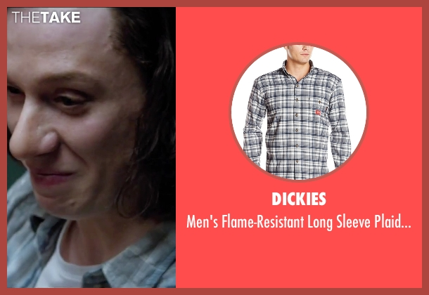 Dickies gray shirt from Secret in Their Eyes seen with Joe Cole (Marzin / Beckwith)