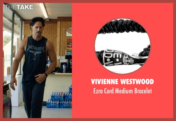 Vivienne Westwood black bracelet from Magic Mike XXL seen with Joe Manganiello (Big Dick Richie)