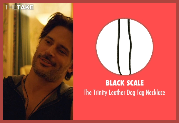 Black Scale black necklace from Magic Mike XXL seen with Joe Manganiello (Big Dick Richie)
