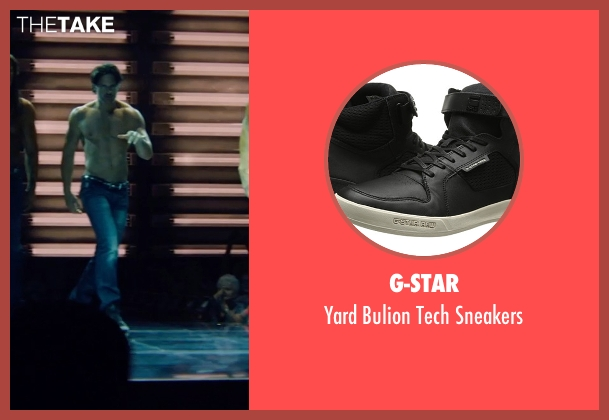 G-Star black sneakers from Magic Mike XXL seen with Joe Manganiello (Big Dick Richie)