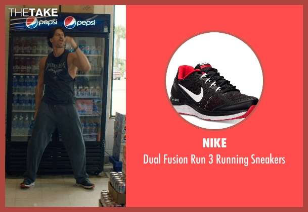 Nike black sneakers from Magic Mike XXL seen with Joe Manganiello (Big Dick Richie)