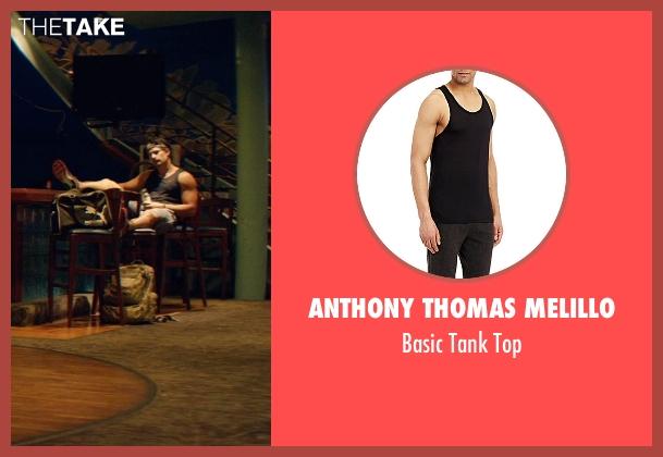 Anthony Thomas Melillo black top from Magic Mike XXL seen with Joe Manganiello (Big Dick Richie)