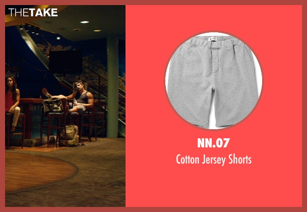 NN.07 gray shorts from Magic Mike XXL seen with Joe Manganiello (Big Dick Richie)