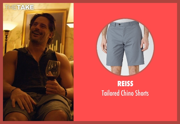 Reiss gray shorts from Magic Mike XXL seen with Joe Manganiello (Big Dick Richie)